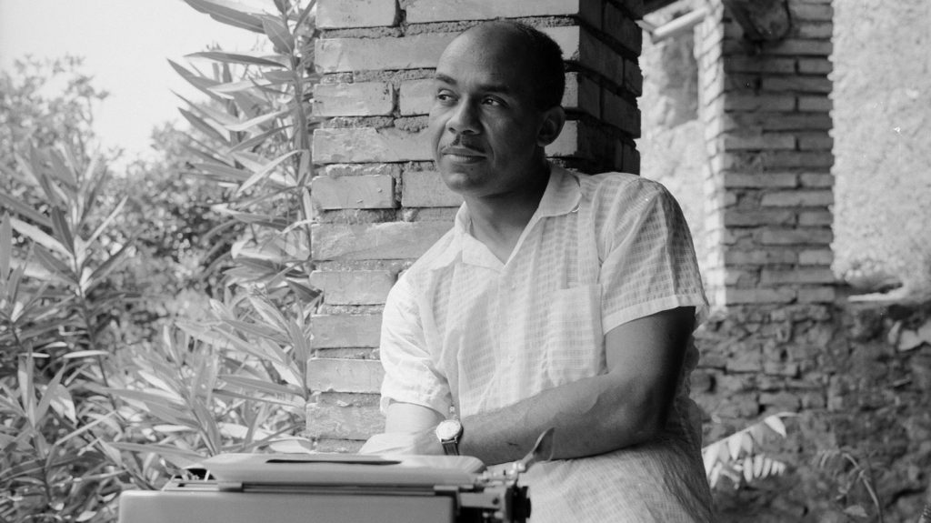 Ralph Ellison, the legendary American writer who wrote about being an invisible black man
